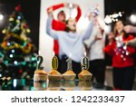 christmas and new year... | Shutterstock . vector #1242233437
