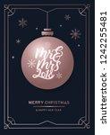 """""""mrs and mrs 2018"""" lettering...   Shutterstock .eps vector #1242255481"""