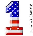 american numbers | Shutterstock . vector #124227349