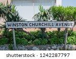Small photo of Gibraltar, Winston Churchill Avenue, British Overseas Territory