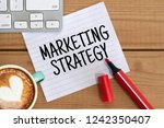 business concept. marketing... | Shutterstock . vector #1242350407