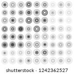 large set of  vector abstract... | Shutterstock .eps vector #1242362527