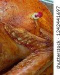 turkey pop out temperature... | Shutterstock . vector #1242441697