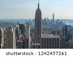 new york city  ny united states ... | Shutterstock . vector #1242457261