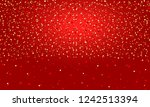 glitter texture with dots on... | Shutterstock .eps vector #1242513394