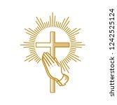 Church Logo. Christian Symbols. ...