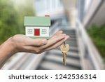 building  mortgage  real estate ... | Shutterstock . vector #1242536314