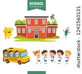vector illustration of... | Shutterstock .eps vector #1242560131