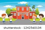 vector illustration of... | Shutterstock .eps vector #1242560134
