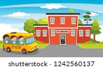 vector illustration of... | Shutterstock .eps vector #1242560137