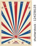 tricolor vintage. a vintage... | Shutterstock .eps vector #124258135