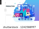 business series  color 2  ... | Shutterstock .eps vector #1242588997