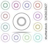 scotch concept line icon.... | Shutterstock .eps vector #1242613627