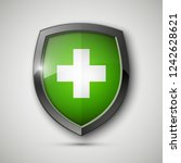 medical health protection... | Shutterstock . vector #1242628621