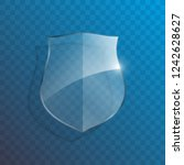 protect guard glass shield... | Shutterstock . vector #1242628627