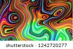 Trippy Background Design  With...
