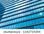 beautiful architecture business ... | Shutterstock . vector #1242725344