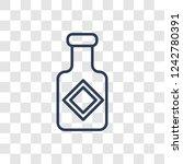 sauce icon. trendy linear sauce ... | Shutterstock .eps vector #1242780391