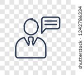 insurance advice icon. trendy...   Shutterstock .eps vector #1242786334