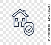 replacement value icon. trendy... | Shutterstock .eps vector #1242786367