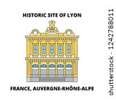 france  auvergne rhone alpe  ...   Shutterstock .eps vector #1242788011