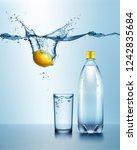 vector realistic illustration... | Shutterstock .eps vector #1242835684