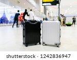 travel with beautiful women's... | Shutterstock . vector #1242836947