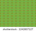 mixed pattern original design... | Shutterstock . vector #1242837127