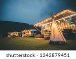 ratchaburi   thailand   jan 22  ... | Shutterstock . vector #1242879451