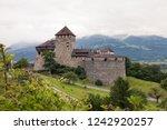 vaduz liechtenstein castle in... | Shutterstock . vector #1242920257