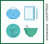 4 therapy icon. vector...   Shutterstock .eps vector #1242979024