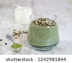 A Cup Of Healthy Chia Seeds...