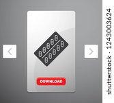 medicine  pill  drugs  tablet ... | Shutterstock .eps vector #1243003624
