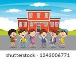 vector illustration of... | Shutterstock .eps vector #1243006771