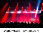 huge crowd of people with the... | Shutterstock . vector #1243067071
