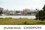 victoria british columbia... | Shutterstock . vector #1243099294