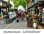 ho chi minh city  saigon ... | Shutterstock . vector #1243100167