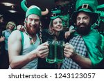 saint patrick's day party.... | Shutterstock . vector #1243123057