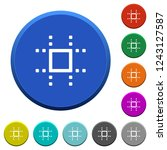 snap to grid round color... | Shutterstock .eps vector #1243127587