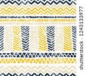 seamless geometric pattern.... | Shutterstock .eps vector #1243133977