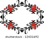decorative frame | Shutterstock .eps vector #12431692