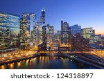 City Of Chicago. Image Of...
