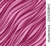 abstract purple waves. strips... | Shutterstock .eps vector #1243200841