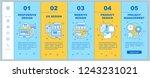 web design onboarding mobile... | Shutterstock .eps vector #1243231021