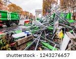paris  france   november 25 ...   Shutterstock . vector #1243276657
