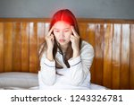 asian young woman has a... | Shutterstock . vector #1243326781