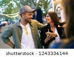 shot of sweet attractive couple ...   Shutterstock . vector #1243336144