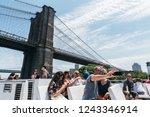 new york city  usa   june 24 ... | Shutterstock . vector #1243346914