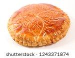 epiphany cake on white... | Shutterstock . vector #1243371874