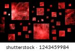 abstract square rectangle... | Shutterstock . vector #1243459984